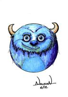 CircleToon: Sulley by Fellhauer