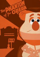The Phantom of the Opera - Muppet Monster Poster by Gr8Gonzo