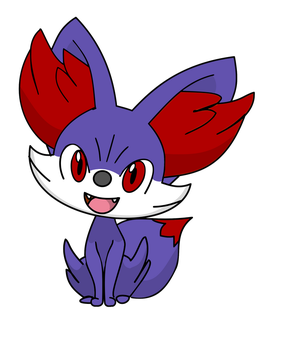 My first drawing with InkScape! by EpicFennekin