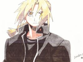 Edward Elric by FastBack411