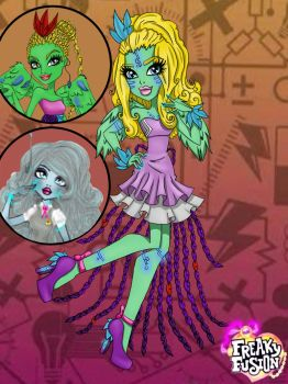 Monster High Freaky Fusion by lady-yuna-chi