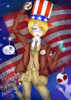 Happy Birthday America! 2014 by MysterionRises6