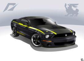 Shelby Terlingua Mustang by Mr-Shin