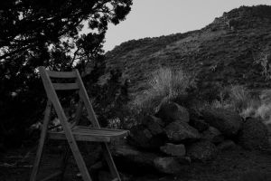 Sitting Chair in the Desert II by M-Lewis