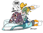 The Zombie Space Aliens by luismario