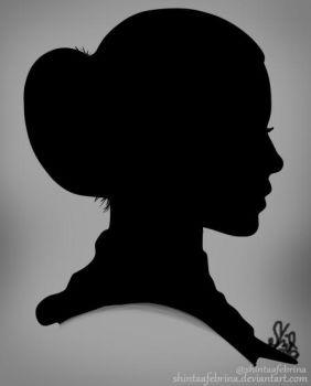 indonesianGirl silhoutte by ShintaAFebrina