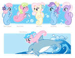 Shoo-be-Dooooo G1 Sea Ponies by dizziness