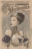 Lady Mechanika  2 #140/200 by joebenitez