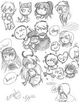 Big Sketch Dump by HaruKitsu