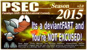 PSEC 2015 Its a deviantFART and You're NOT EXCUSED by paradigm-shifting