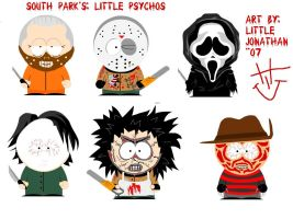 Little psychos by LittleJonathan