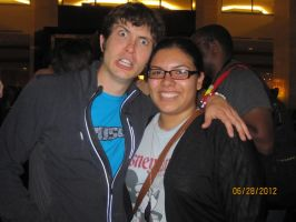 Me and Toby, Vidcon by ILoveCP