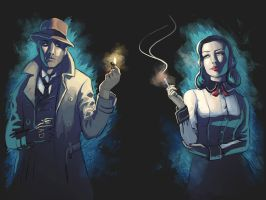 Burial at Sea by danielledemartini