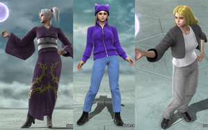Soul Calibur OC's: clady-demon Set by RatsuTerra48