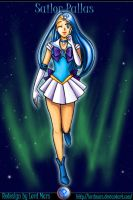 Sailor Pallas Redesign by LordMars