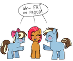 proud chubs - [COM] Babs and Friends by unoriginaI