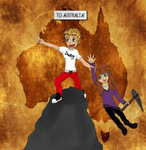 To Australia! - Australia Adventures by TossarN