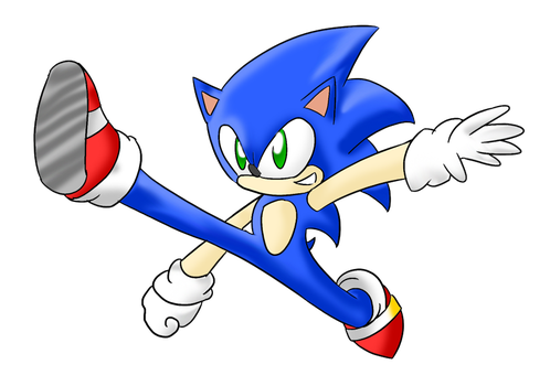 Fighters United: Sonic The Hedgehog by Xero-J