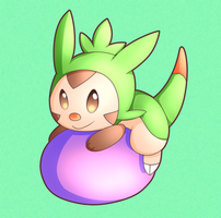 Chespin by kanookies