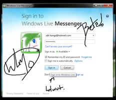 Windows Live Messenger 10 by arxius2