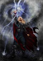 Thor by XantheUnwinArt