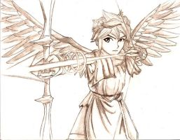 Pit of Kid Icarus by CaptainDeath