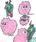 [MLP FA] Fluffle Puff doodles by SkywalkerGirl666
