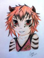 Human Tigress by Coralis101