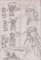 Sherlock sketches by Ciajka