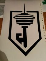 Calgary Tower Resistance - Decal by Busker3000