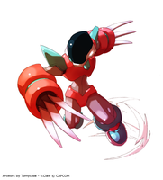 Variant Claw - Rockman Zero 4 by Tomycase