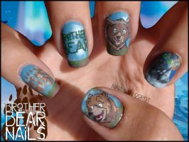 Brother Bear Nails by Ninails