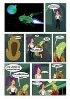 Futurama - Tales of Meatbag Island - PAGE 08 by Spider-Matt