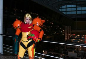 Samus Aran - Tired by Karim-sama