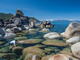 Lake Tahoe Spring by MartinGollery