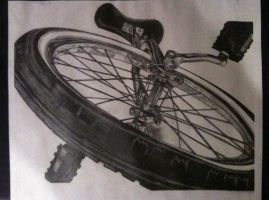 RISD bike drawing by madds23