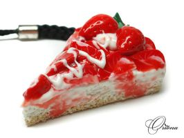 Strawberry Cake 03 by OrionaJewelry