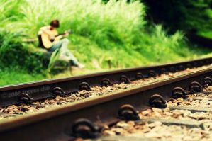 By the tracks by Togusa208