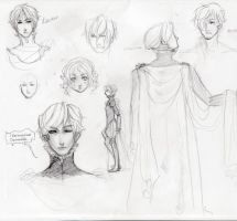 Hamlet sketchings. by shiretoko