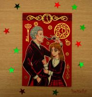 Doctor and Clara by heiseihi