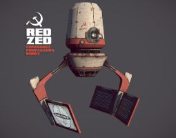 Red Zed WIP by CCrumpler