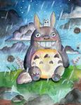 My Neighbor Totoro by UnsweetTii