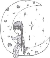 Talking to the Moon by FinnishGirl97