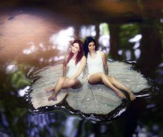Pond Pixies by thethumbelinaproject