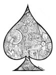 Ace of Spades by violetice