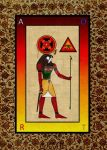 TAROT TO RA Old egypt ancient god mystery rose by Mikewildt