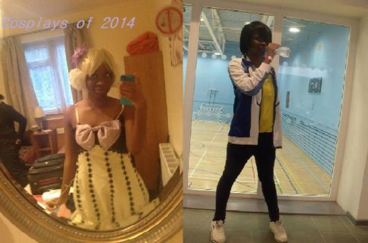Cosplays of 2014 by XxOtakuChiceexX