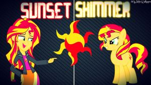 Sunset Shimmer Wallpaper by XxStrawberry-RosexX