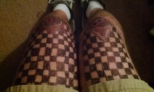 knee cap design added checkers by nighthawkblack1