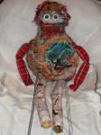 Catherine, a free-form Crochet Monster [front] by Kate-ColourTheory